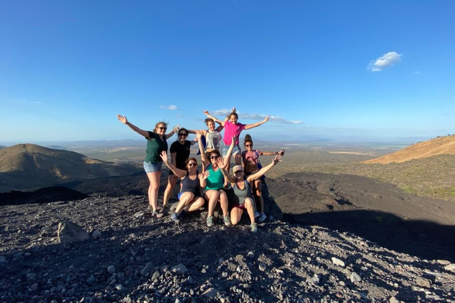 THE HERITAGE WOMEN'S SURF CLUB VISITS NICARAGUA FOR SURF & VOLCANO SANDBOARDING